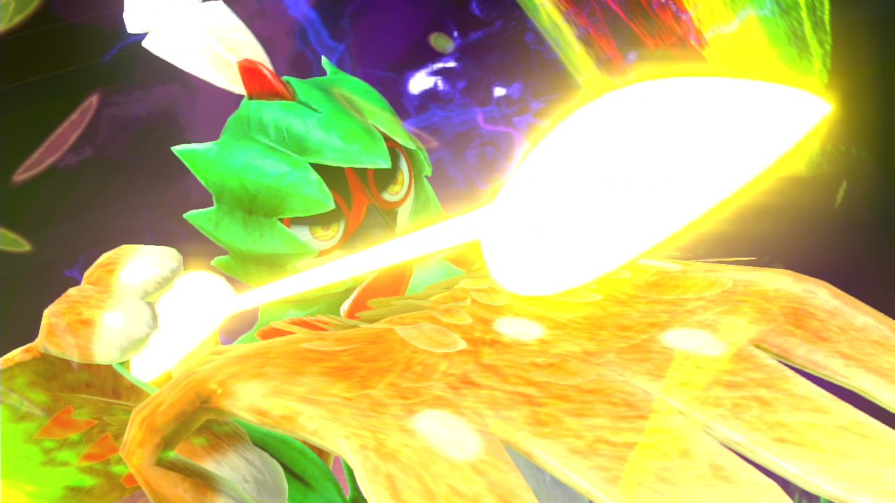 Screenshot aus Pokémon Tekken DX