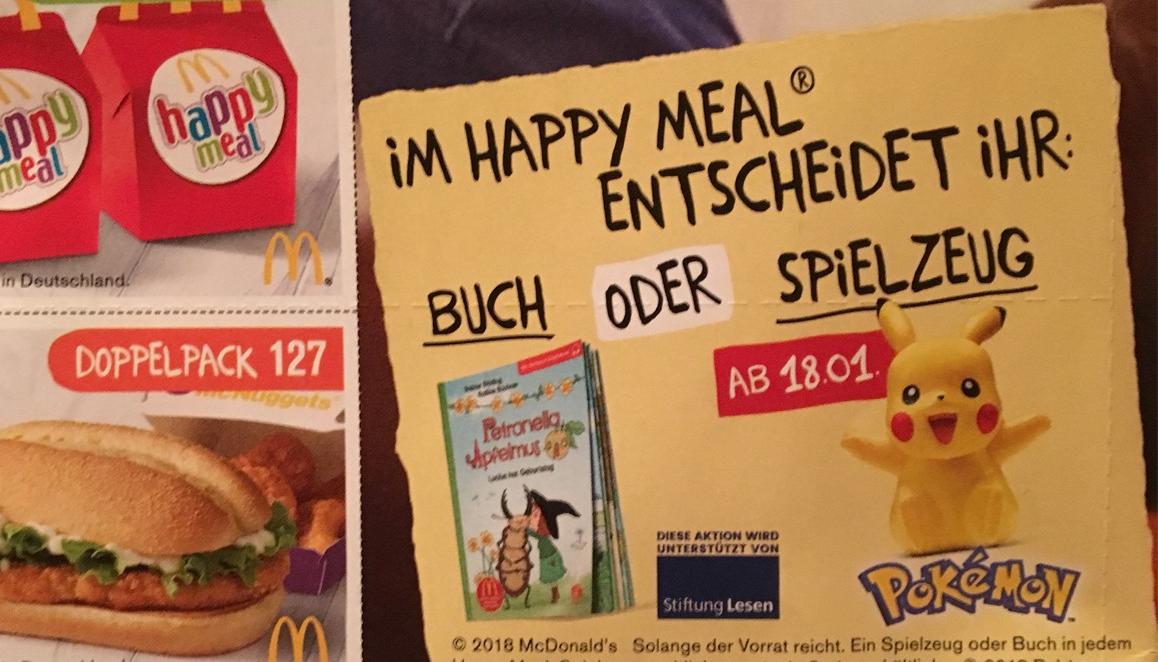 Pokémon Spielzeug Ab Mitte Januar Bei Mcdonalds Im Happy Meal