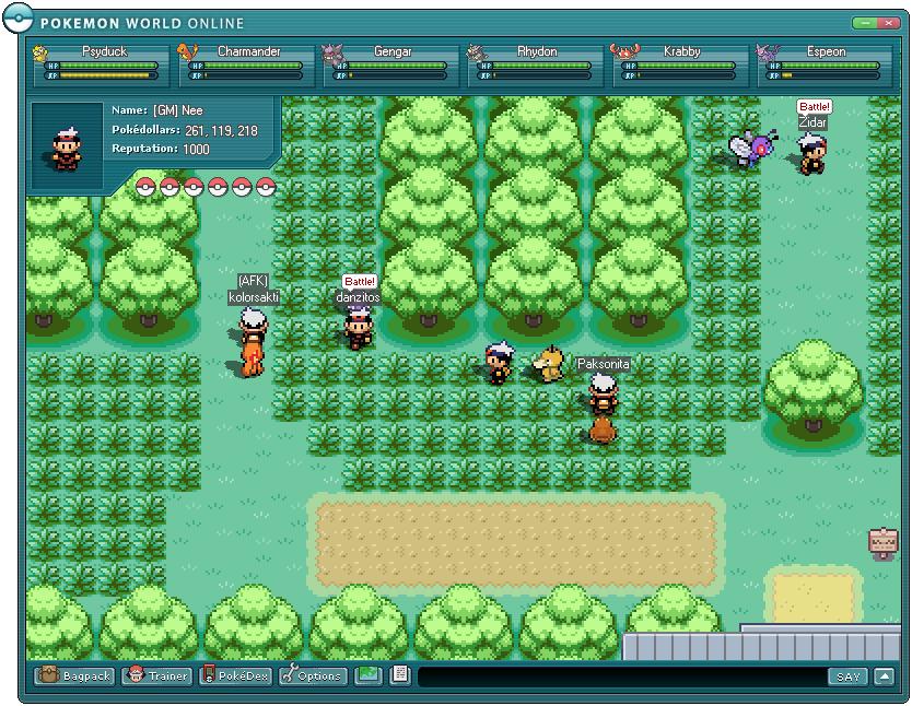 pokemon spiele online spielen