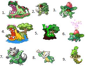 Speed wettbewerb 34 das voting wettbewerbe for Boden pokemon