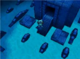 Unterwasserruine