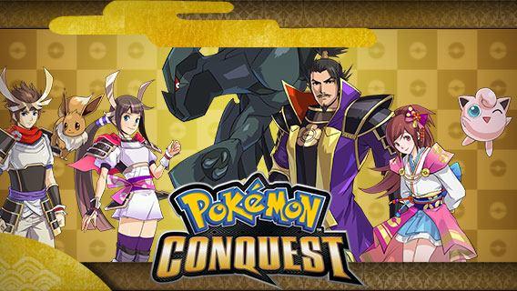 Screenshot zu Pokémon Conquest von der offiziellen Webseite