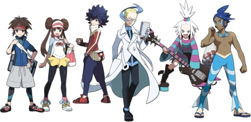 Die neuen Charaktere