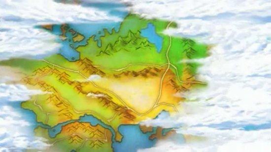 Eine Karte von Ransei