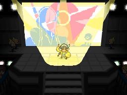 Die Arenaleiterin Kamilla in Rayono City in Pokémon Schwarz und Weiß 2