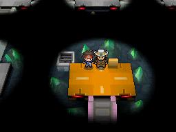 Der Arenaleiter Turner in Marea City in Pokémon Schwarz und Weiß