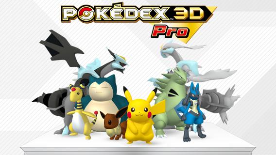 Logo des Pokédex 3D Pro