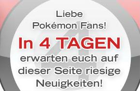 Countdown auf der offiziellen deutschen Pokémon-Webseite