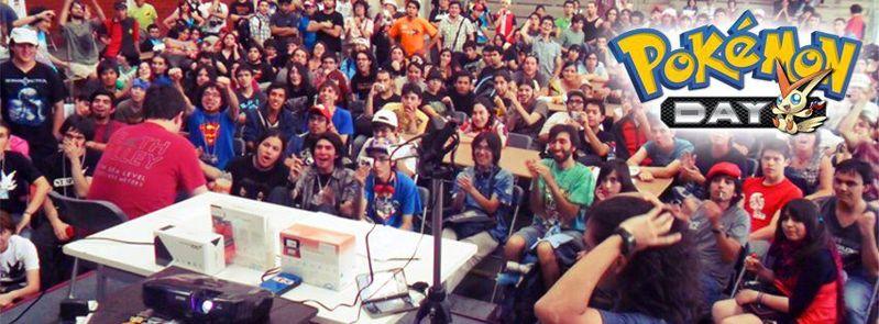 Die Bühne des Pokémon Day 2013 in Chile