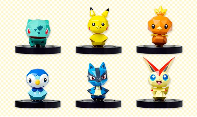 Pokemon Rumble U-NFC-Figuren