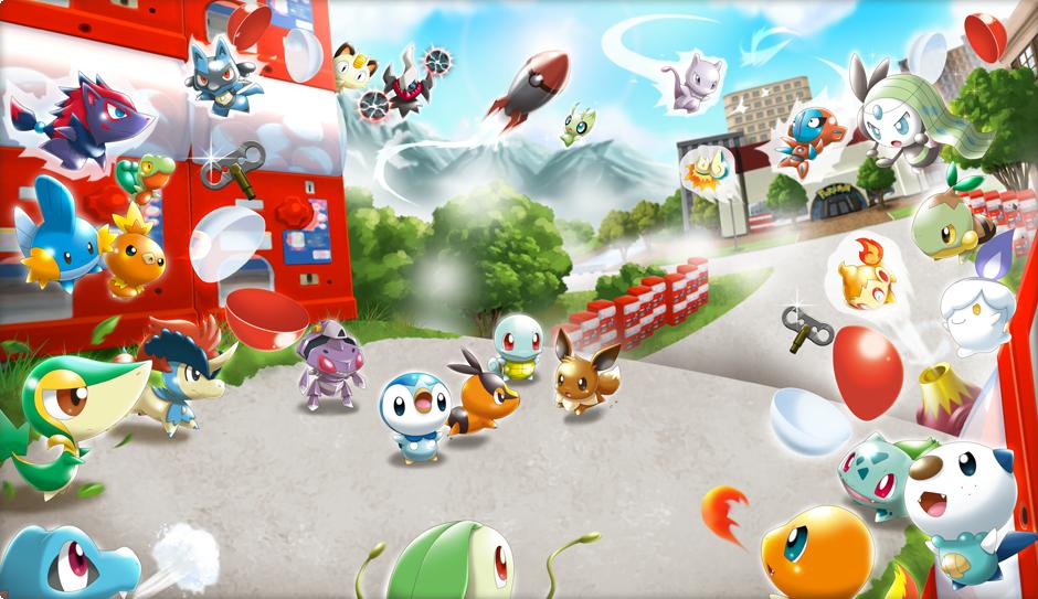 Artwork zu den Spielzeug Pokémon