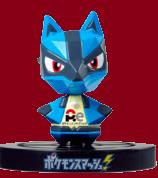 Pokémon Smash NFC-Lucario-Figur