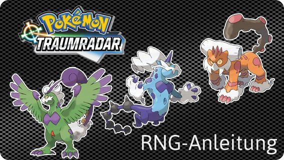 Pokémon Traumradar RNG-Anleitung