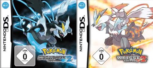 Cover von Pokémon Schwarz und Weiß 2