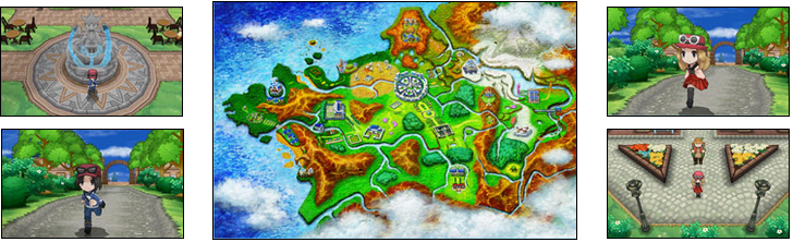 Eine neue Welt erwartet dich in Pokémon X und Pokémon Y!