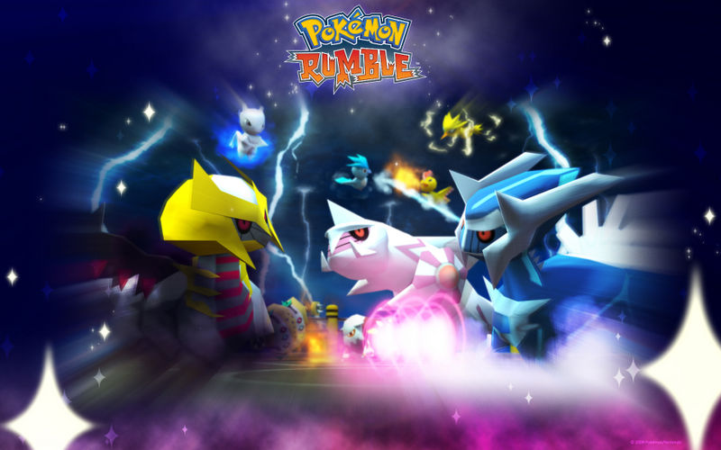 Pokémon Rumble Artwork