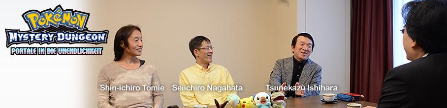 Pokémon Mystery Dungeon Iwata-Fragt Interview
