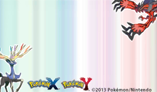 Pokémon X und Y Briefpapier mit Xerneas und Yvetal: Weltweit