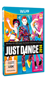 Just Dance 2014 Wii U Vorzeitiges Cover