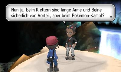 Arena von Lino in Pokémon X und Y