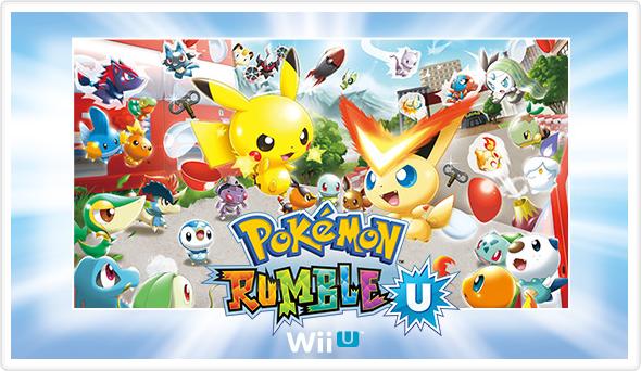Pokémon Rumble U Artwork
