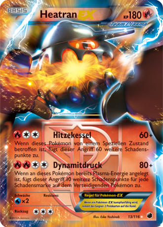 Team Plasma Heatran EX
