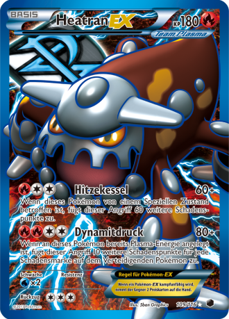 Team Plasma Heatran EX FA