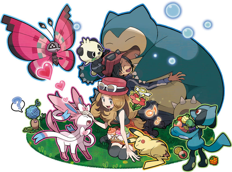 Artwork zu PokémonAmi
