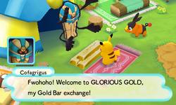 Echnatolls Goldtausch