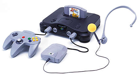 Der Nintendo 64 mit Hey You, Pikachu!