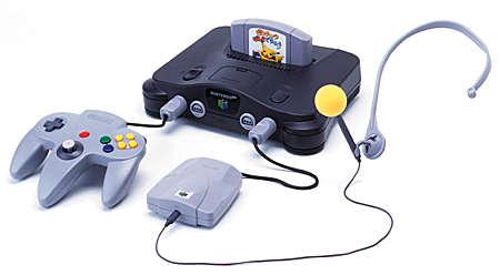 Der Nintendo 64 mit Hey You, Pikachu!