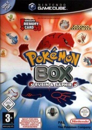 Pokémon Box: Rubin & Saphir Packshot