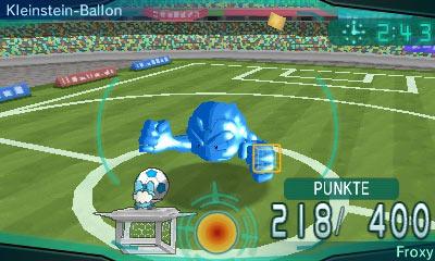 Ein Kleinstein-Ballon