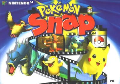Pokémon Snap Verpackung