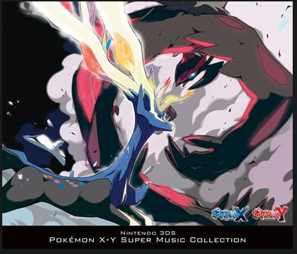 Nintendo 3DS Pokémon X/Y Super Music Collection