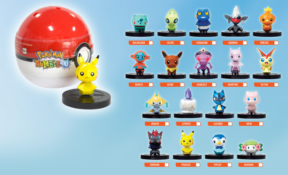 Pokémon Rumble U NFC-Figuren