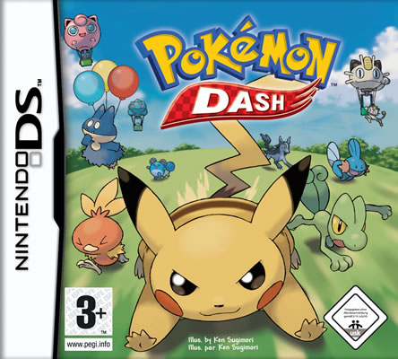 Pokémon Dash Verpackung