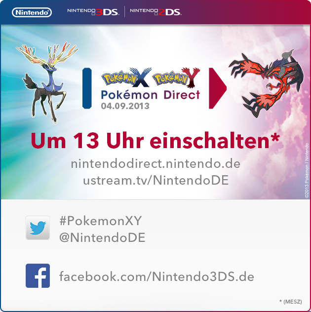 Pokémon X und Y Direct