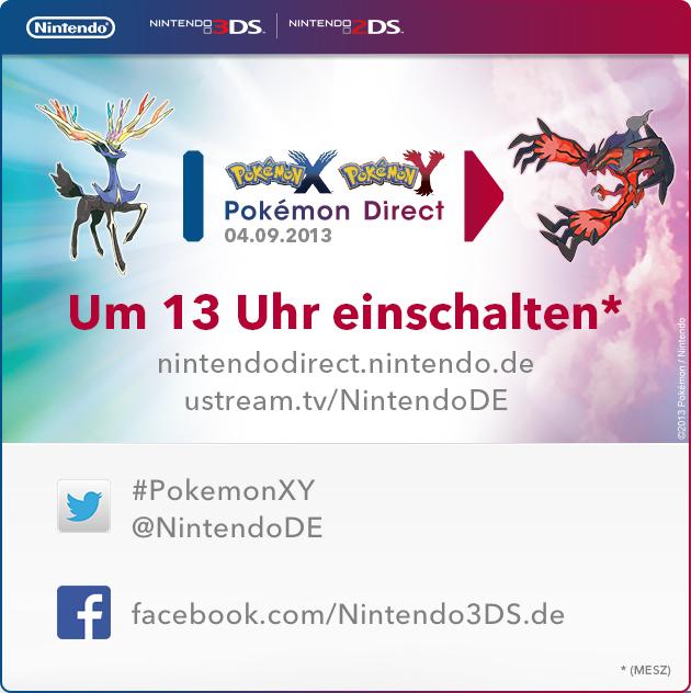 Pokémon X und Y Direct