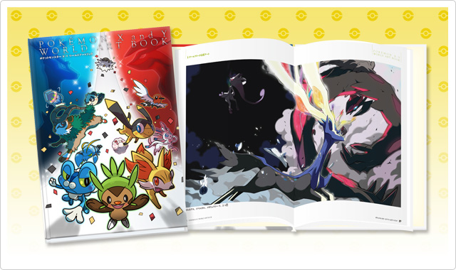 Pocket Monsters X and Y World Art Book