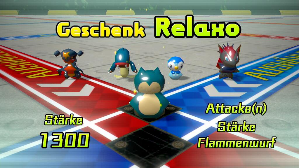 Relaxo in Pokémon Rumble U