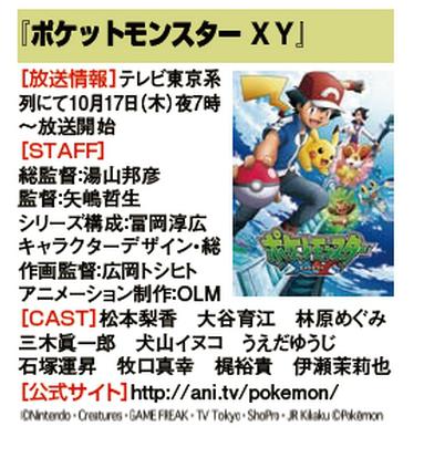 Pokémon die Serie: XY - japanische Synchronsprecher