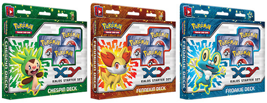 XY Deluxe Starter Sets