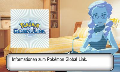 Pokémon Global Link Mitteilung