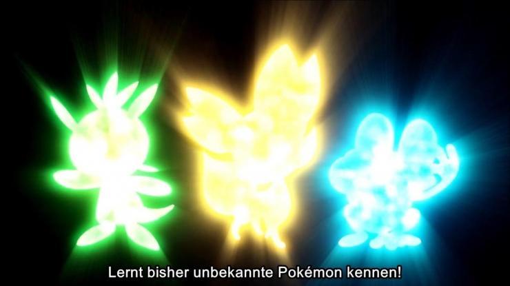 Lernt bisher unbekannte Pokémon kennen!