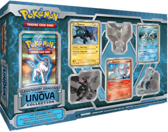 Legendary Dragons of Unova Collection