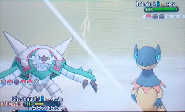 Ein neues Wetter unterstützt Pokémon vom Typen Elektro