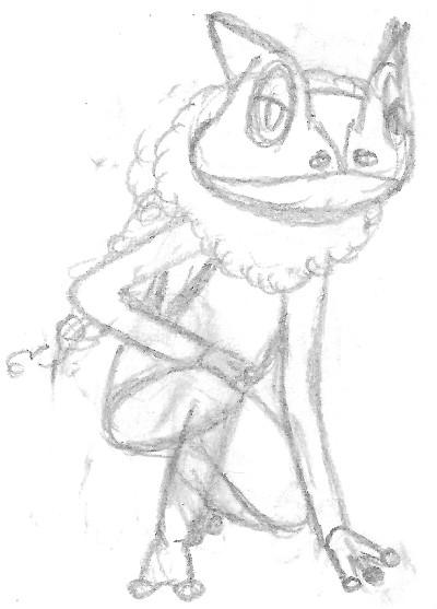 Zeichnung Amphizel Ausmalbild Pokémon Fanart