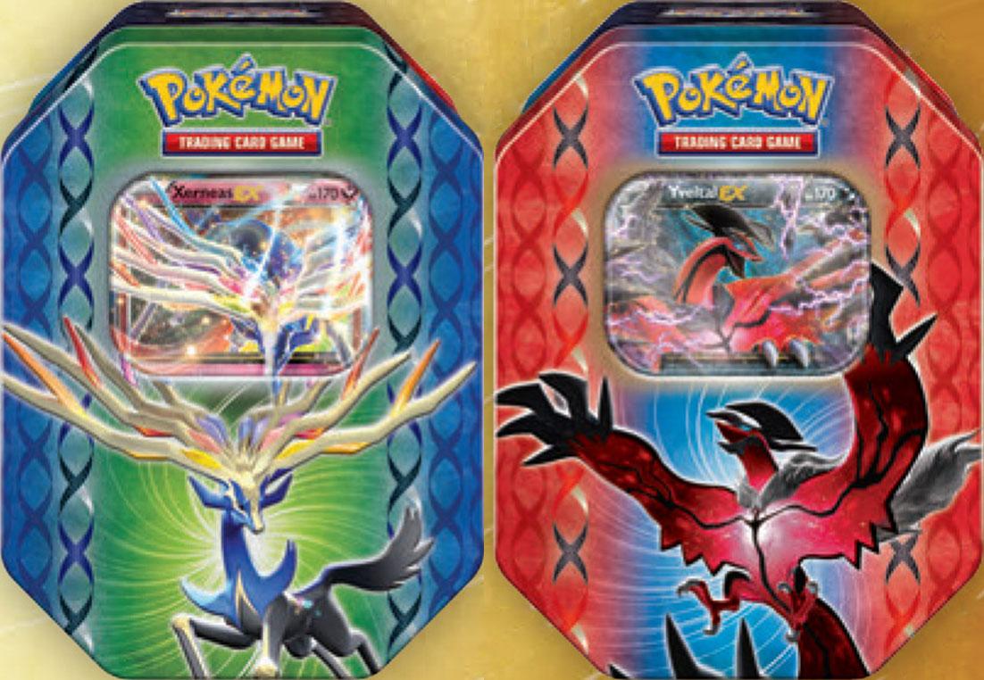 Xerneas yveltal tins englische xy karten pok mon - Pokemon legendaire pokemon y ...