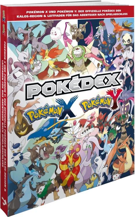 Pokemon X/Y: Der offizielle Pokedex der Kalos Region